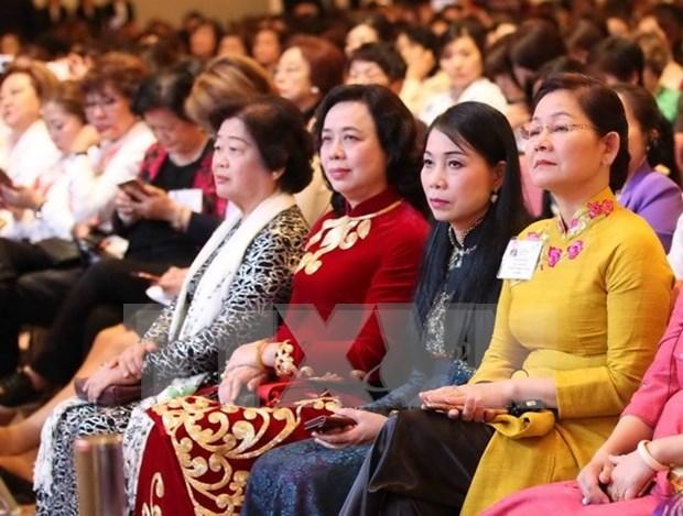 Les Vietnamiennes jouent un role important dans le developpement national hinh anh 1