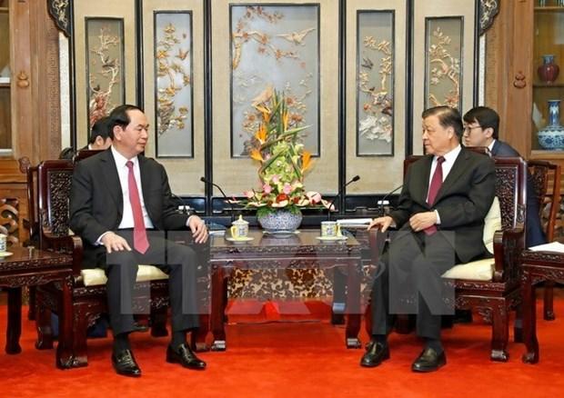 Le Vietnam et la Chine oeuvent pour promouvoir leur cooperation hinh anh 1