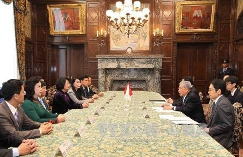 Dang Thi Ngoc Thinh salue le soutien de la Chambre des Conseillers du Japon pour le Vietnam hinh anh 1