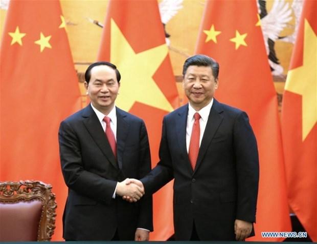Communique conjoint Vietnam-Chine hinh anh 1