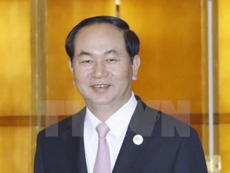 Forum a Pekin: Tran Dai Quang rencontre des dirigeants etrangers hinh anh 1