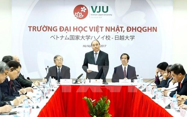 Universite Vietnam-Japon, symbole du partenariat strategique approfondi entre les deux pays hinh anh 1