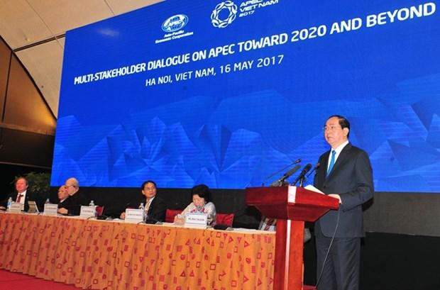 Ouverture du dialogue multipartite sur l'APEC vers 2020 et le futur hinh anh 1