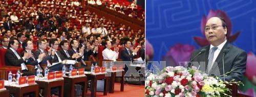 Ouverture de la 2e conference entre le Premier ministre et les entreprises hinh anh 1