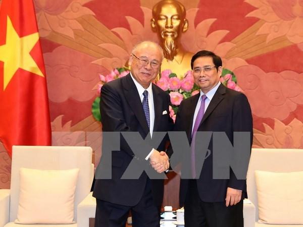 Vietnam et Japon renforcent la cooperation dans la formation hinh anh 1