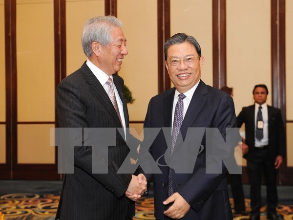 Singapour s'engage a promouvoir les relations ASEAN-Chine hinh anh 1