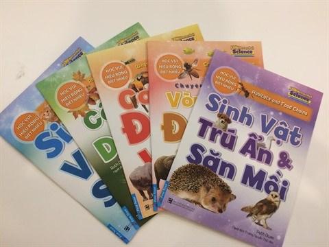 Sortie d'une collection de livres pour enfants sur les sciences fondamentales hinh anh 1
