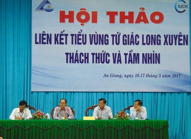 Delta du Mekong : colloque sur le Quadrilatere de Long Xuyen hinh anh 1