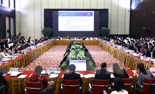APEC 2017 : la SOM 2 continue de discuter des contenus importants hinh anh 1