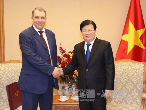 Le Vietnam encourage les investissements russes dans le petrole et le gaz hinh anh 1
