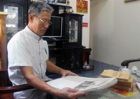 L'Oncle Ho dans le cœur et l'esprit de vieux soldats hinh anh 1