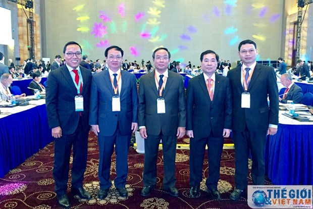 Le Vietnam au Forum des maires au Jiangsu hinh anh 1