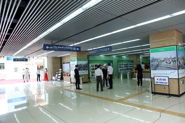 Hanoi : la gare ferroviaire La Khe mise en service hinh anh 2