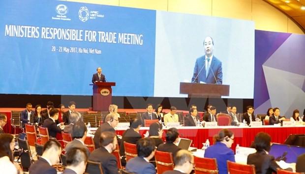 APEC 2017 : le Premier ministre a la 23e conference des ministres responsables du Commerce hinh anh 1