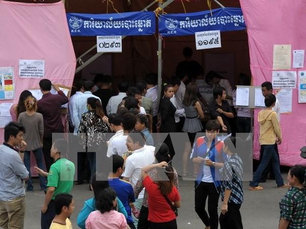 Cambodge : lancement des campagnes pour les elections locales hinh anh 1