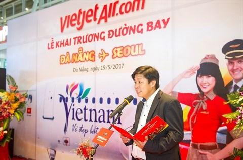 Vietjet ouvre une ligne Da Nang - Seoul hinh anh 1