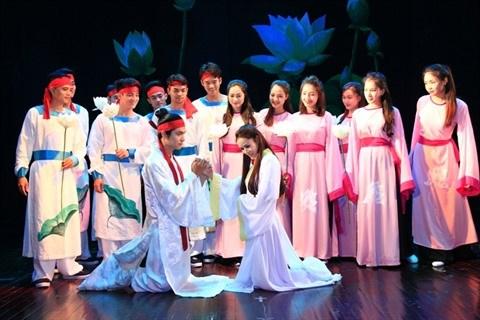 Theatre : la piece Kieu pour les touristes etrangers hinh anh 1