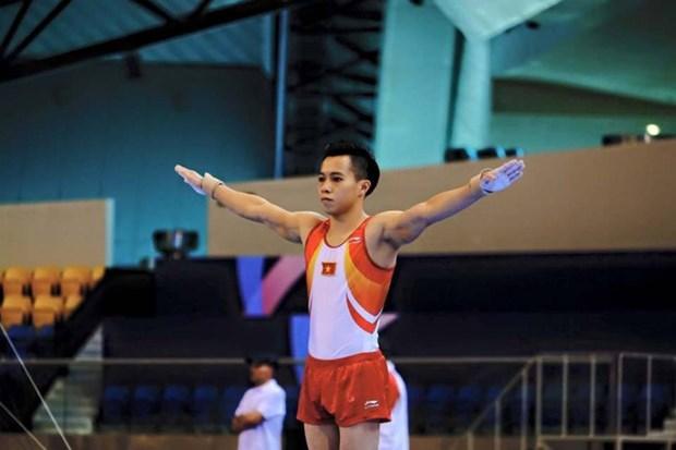 De l'or pour le Vietnam au championnat d'Asie de gymnastique artistique hinh anh 1