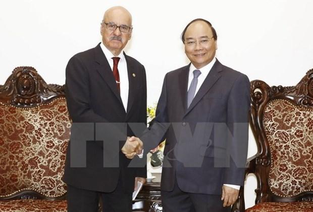 Le PM Nguyen Xuan Phuc recoit le directeur general de l'OFID hinh anh 1