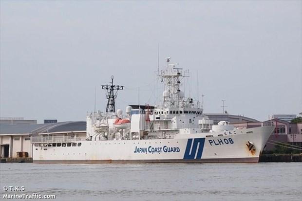 Un navire japonais participera a des exercices conjoints anti-piraterie au Vietnam hinh anh 1