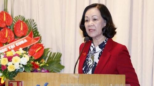 L'Association d'amitie Vietnam-Cuba a une nouvelle presidente hinh anh 1
