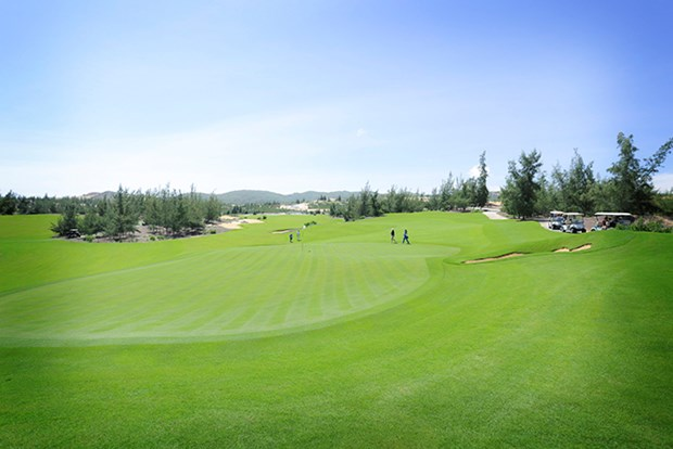 Ouverture du tournoi de golf amateur elargi 2017 hinh anh 1