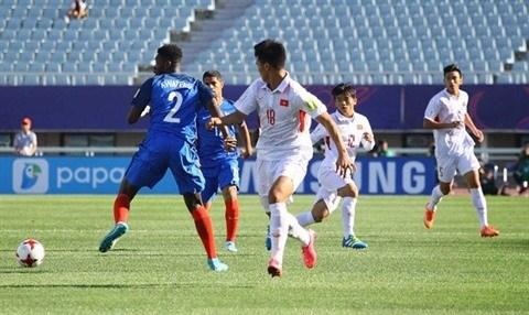Mondial U20 : le Vietnam battu 4-0 par la France hinh anh 1