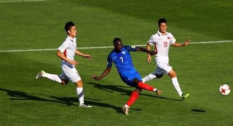 Mondial U20 : le Vietnam battu 4-0 par la France hinh anh 2
