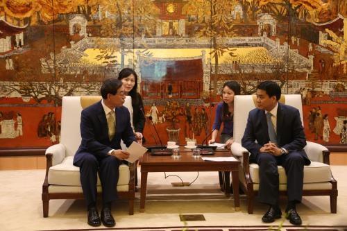 Hanoi favorise l'investissement des entreprises sud-coreennes hinh anh 1