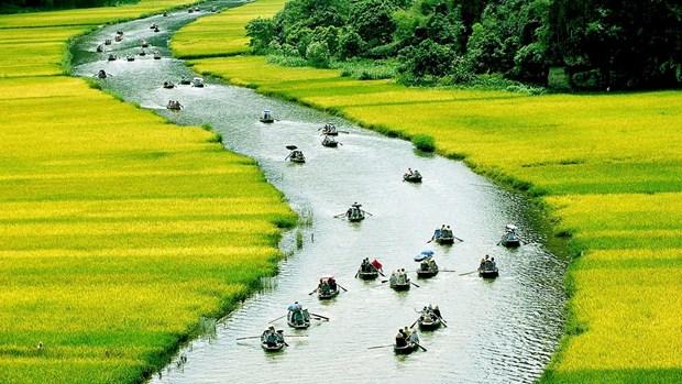 Tam Coc et Bich Dong, region feerique du monde hinh anh 1
