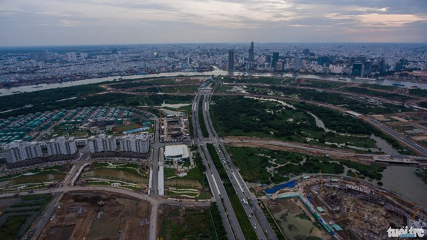 HCM-V : 20.000 milliards de dong pour la zone multifonctionnelle de Thu Thiem hinh anh 1