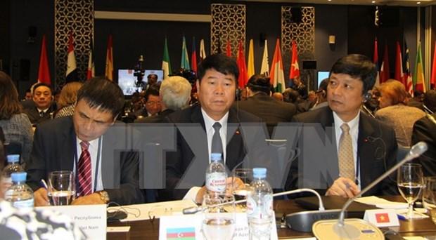 Le Vietnam a la conference des hauts responsables sur les problemes de securite en Russie hinh anh 1