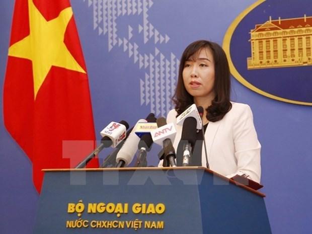 Le Vietnam s'oppose aux exercices de Taiwan (Chine) dans l'archipel de Truong Sa hinh anh 1