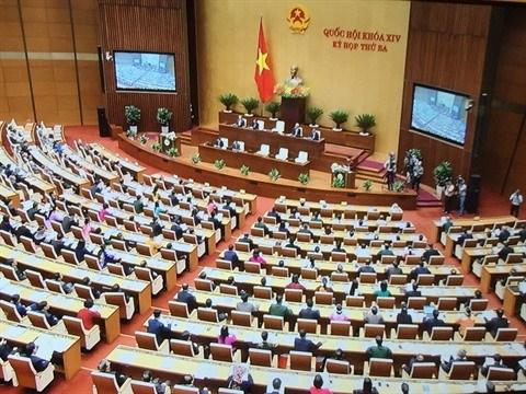 L'Assemblee nationale se penche sur trois projets de loi hinh anh 1