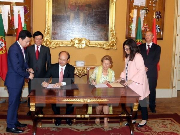 Vietnam et Portugal discutent du renforcement des relations bilaterales hinh anh 1