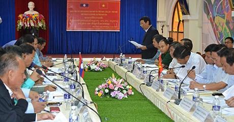 Examen de la mise en œuvre de l'Accord de Hanoi entre le Laos et le Vietnam hinh anh 1