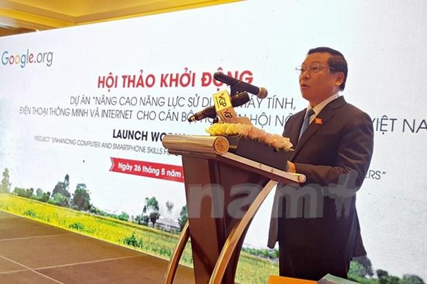 Google soutient les paysans vietnamiens dans l'usage d'internet hinh anh 1