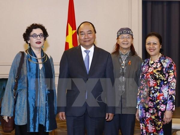 Le PM recoit des entrepreneurs et des intellectuels d'origine vietnamienne aux Etats-Unis hinh anh 2