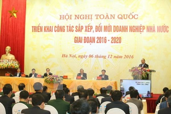 Approbation du projet de restructuration des entreprises publiques hinh anh 1