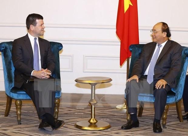 Le PM soutient la cooperation entre le NASDAQ et les entreprises vietnamiennes hinh anh 1