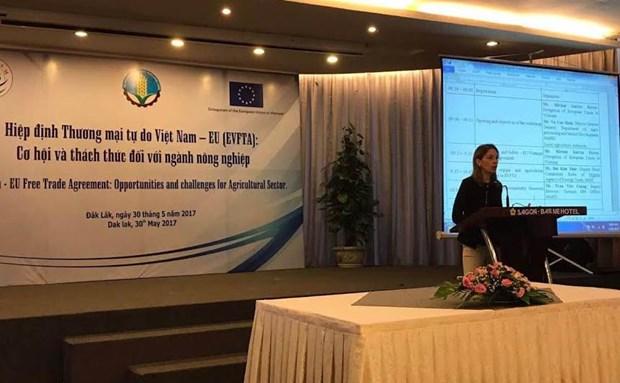 L'UE et le Vietnam partagent des opportunites et defis dans l'agriculture hinh anh 1