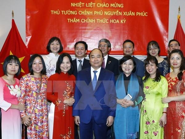 Le PM Nguyen Xuan Phuc termine sa visite officielle aux Etats-Unis hinh anh 1