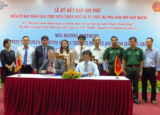 Minimiser les risques des bombes et mines laisses par la guerre a Thua Thien-Hue hinh anh 1
