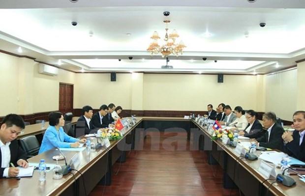 La 2e consultation politique Vietnam-Laos hinh anh 1