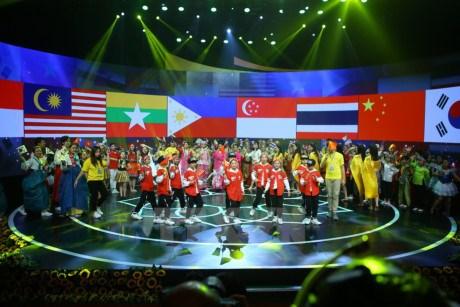 Le festival des enfants de l'ASEAN + s'ouvre a Hanoi hinh anh 2