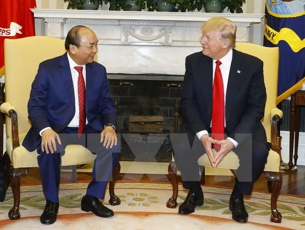 La visite officielle aux Etats-Unis du PM Nguyen Xuan Phuc est un succes hinh anh 1