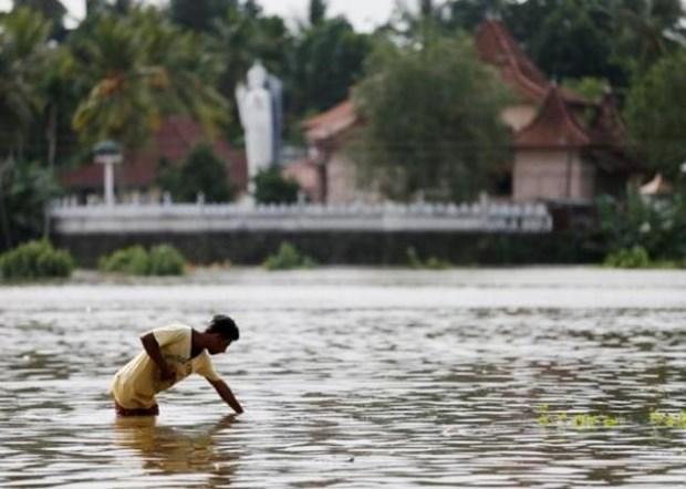 Inondations au Sri Lanka : message de condoleances du Premier ministre vietnamien hinh anh 1