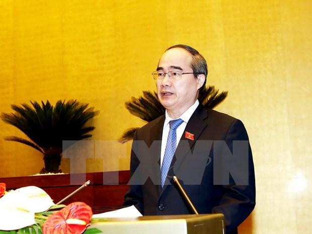 Anniversaire de Hoa Hao : felicitations du president du Front de la Patrie hinh anh 1