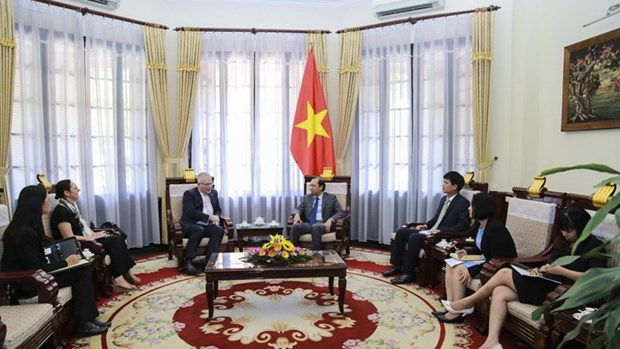 L'Australie s'engage a accompagner l'ASEAN hinh anh 1