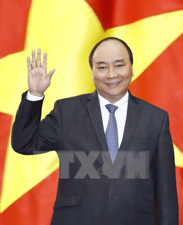 Le PM Nguyen Xuan Phuc en route pour sa visite officielle au Japon hinh anh 1